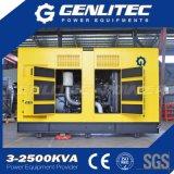 Da fábrica gerador 350kw Diesel silencioso diretamente com motor do MTU