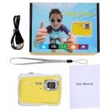 12MP 720p HD 3mの防水子供のデジタルカメラ