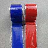 Bande protégeante par fusible de silicones d'oxyde de fer d'individu rouge en caoutchouc