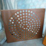Pantalla de aluminio perforada y fachada de aluminio perforada de la hoja