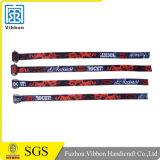 Билет согласия напечатанный с Wristband сатинировки логоса