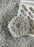 غبار منخفضة قوّيّة [كلومبينغ] كرة بنتونيت قطّ نقّال فضلات