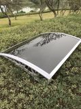Abrigo telescópico ao ar livre da chuva do toldo do tamanho diferente com a folha do sólido do PC
