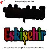 トルコの昇進(YH-FM071)のために広告する柔らかいPVC冷却装置磁石を