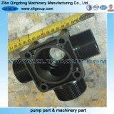 Válvula de repuesto que trabaja a máquina del acero inoxidable 316