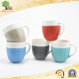 21oz en relief la promotion des tasses en céramique pour Customed Logo en tasse de café