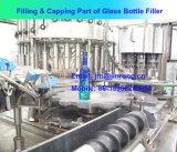 Máquina de rellenar del casquillo de aluminio automático de la botella de cristal