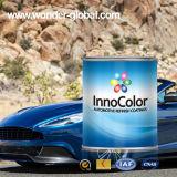 Automobiles solides élevés tournent la peinture