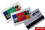 Tarjeta de la raya magnética del PVC de Hico del loco de la impresión de Cmky de la alta calidad