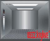 Elevador de carga de las mercancías del almacén con la carga grande