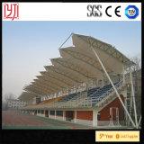 Estructura creativa de la membrana del soporte de la tienda del estadio del grado superior con la cubierta blanca