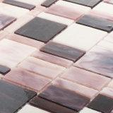 Azulejo de mosaico caliente del vidrio manchado de la venta de la manera