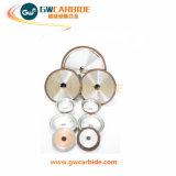 Абразивные диски шара, колеса чашки диаманта, истирательное колесо