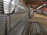 Tubos de acero cuadrado pre-galvanizado para muebles