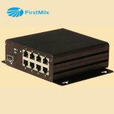 Interruttore industriale ONU di Ethernet di Poe