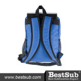 Saco de escola dos miúdos (azul com bolso preto)