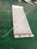 4mm、6mmの8mmの厚い熱間圧延のステンレス鋼穴があいたシートの産業目的を切るレーザー