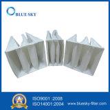 Filtro de Mangas de bolsillo de fibra sintética colector de polvo de F5 de la eficiencia