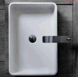 Lavabo di superficie solido acrilico del controsoffitto