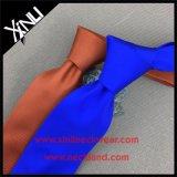 Nó perfeito 100% Serigrafia Skinny Mens gravatas de seda
