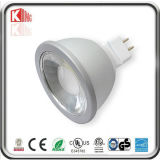 Reflector LED de China Fabricación de 12V AC / DC regulable MR16 7W LED con Base GU5.3 con Energy Star ETL