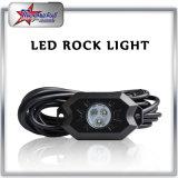 Felsen-Licht-Installationssätze RGB-LED für weg von Straßen-LKW-Auto ATV SUV unter usw. der Karosserien-Glühen-Licht-Lampen-Hinterschutzvorrichtung-Beleuchtung (weißes, bernsteinfarbiges, rotem)