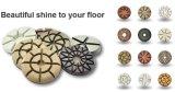 Пол алмазной шлифовки тормозных колодок для конкретного и плитками Тераццо