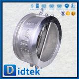 Didtek Doppelplatten-Edelstahl-Oblate-Rückschlagventil
