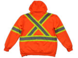 ANSI 승인 옥외 질 높은 시정 공장에서 사려깊은 안전 Flannel 재킷 양털