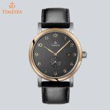 Marca de lujo Automaticmen impermeable de cuero auténtico reloj de relojes de pulsera para hombre Casual Sport Relojes 72288