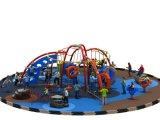 Parque de atracciones al aire libre del patio de los niños con el espacio dinámico feliz (YL-D041)