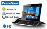 Android téléphone IP, 720p HD écran tactile de 10,1, 6+1 RTPC SIP