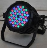 54*3W IP65 RGBW LED 단계 점화/LED 동위 빛