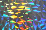 薄板にされたペーパー(ZY16UペットFILM0003)のための真空によって金属で処理されるフィルム