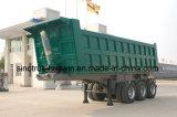 Sinotruk 3개의 차축 트레일러 40 톤 반 덤프, 팁 주는 사람 트레일러