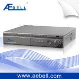 La série S-D1 4 canaux a enfoncé la télévision en circuit fermé DVR de H. 264 avec les entrées audio (BL-DVR404S-D1)