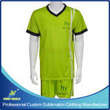 Sublimação personalizada Quick Dry Material Club Team Football Uniform