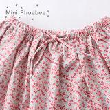 Fußleisten 100% des Phoebee Form-Großverkauf-Baumwollkind-Kleid-Mädchens für Sommer