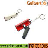 8GB de Aandrijving van de Flits van het Leer USB van het Metaal van de hoge snelheid