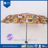 Зонтик повелительницы Sun нестандартной конструкции напечатанный