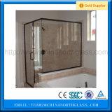 A venda quente curvou a porta de vidro do chuveiro