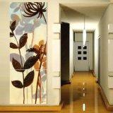 3 Panneaux d'art murale Peinture à l'huile Fleurs Peinture Décoration intérieure Toiles Impression Images pour salon Mc-256