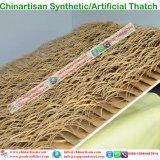 Искусственные соломенной синтетических соломенной пластиковые Palm тростника и штучных кровельных материалов на заводе