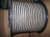 Graphited Verpakking PTFE met Hoeken Aramid voor Verbinding