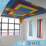 Panneau de mur acoustique de panneau de particules de fibre de coco pour le panneau acoustique