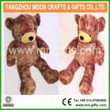 L'ours en peluche brun brillant 160cm de hauteur géant ours en peluche