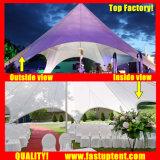 Роскошный Алюминиевый звездообразный тени Палатка для использования вне помещений при диаметре 12m 60 человек местный гость