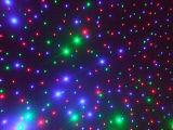 Het Licht van het Gordijn van de LEIDENE Ster van Kerstmis met Ce