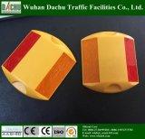 Double côté 3m réflecteur de goujon de la route en plastique