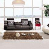 최신 인기 상품 가구 현대 디자인 거실 가죽 부분적인 소파 (L050)